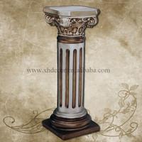 Frp Decoration Roman Column/pillar PU Roman Column /Home decor pillars for decoration
