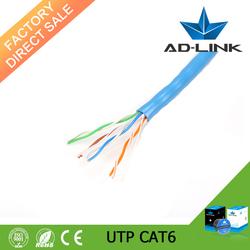 Pass Fluke Bare Copper 24AWG Cat6 Lan UTP Cable