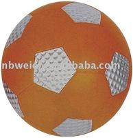 multi-color stress soccer