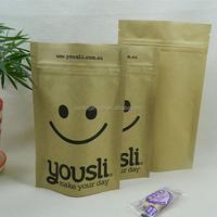 multi-color kraft paper gift bag sealable paper gift bag for bling bing gift