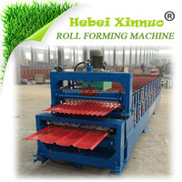 Hebei Xinnuo-840/850 Double Layer Used Roof Roll Forming Machine