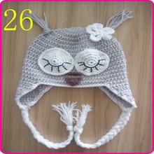 wholesale custom children winter beanies hats/beanie baby knitted hat hot sale