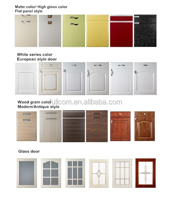 Vinyl Wrap Kitchen Cabinet Door