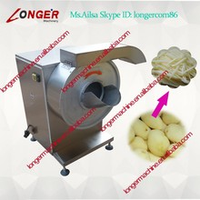 potato chips spiral cutter/automatic french fries processing line