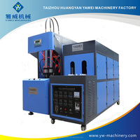 Low costs easy maintain semi automatic bottle plastic blow moulding machine