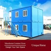 solid waterproof wooden long lifespan modular villas houses