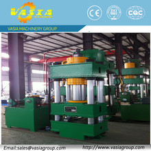 CNC hydraulic press machine with variable pump and optional working table size