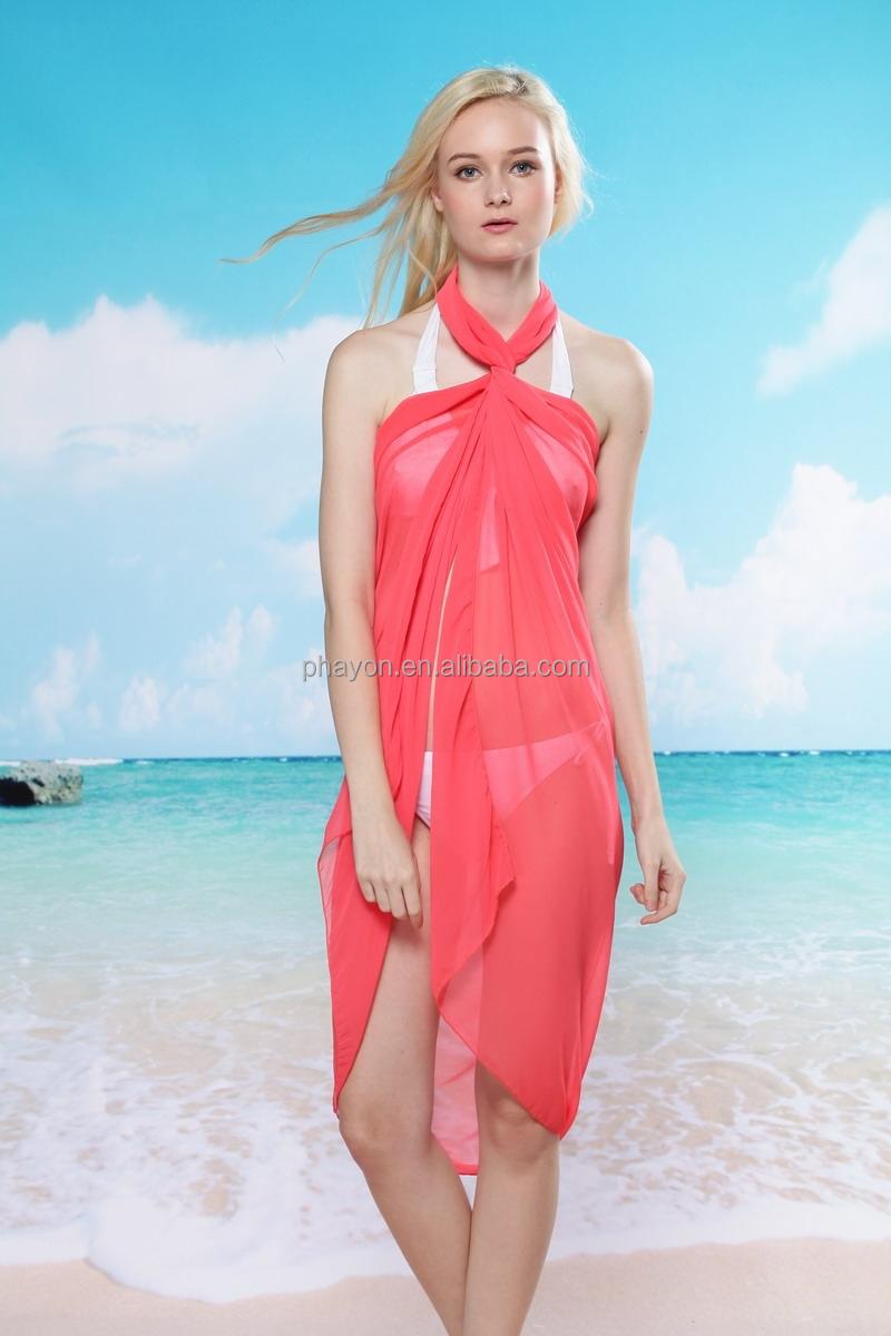 2014 New Season Swimwear Sexy Beach Pareo For Women,White ...
