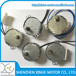 high speed low noise dB 30~50 synchronous motor 12v 50/60hz