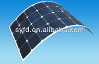 21% Efficiency Sunpower Back Contact Flexible Solar Panel,40W