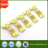Rapid pressing speed brass female terminal plug,brass cable crimp electrical terminal