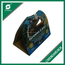 LARGE SIZE CORRUGATED CARDBOARD PAPER BOARD CUSTOMIZED COLORED PAPER CARRIERS WITH CHEAP PRICE