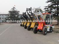 ZL10A mini wheel loader with CE approved.quickhitch