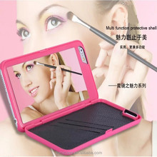 2015 New Make Up Mirror Hard Skin Case Cover Shell for Mobile Cell Phone For Iphone 6/6plus Womens