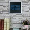 Hot sales Beautiful PS MDF Wood DIY wall decor silk-screen art frame shadow box