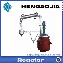 50L stainless steel lab reaction vessel /jacketed agitated reactor /stirred tank reactor for hot-melt adhesive etc.