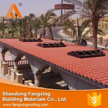 2015 hot selling building materials double roman clay for sales roof tiles
