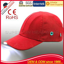 2014 new style buy safety led lighting helmet bump caps and hats