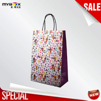 wholesale custom made design high quality recycle paper bag