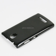 Special provision sublimation hard plastic bumper case for phone lenovo a2010