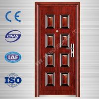 quality metal doors, china main gate steel security door