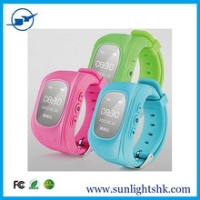 cheap kids gps smart watch with sos button anti lost family numbergps kids security watch