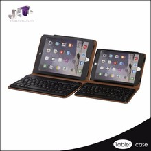 Black custom leather tablet pc case for iPad