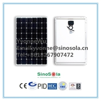 SinoSola Monocrystalline Solar Panel made by 156*156,240W