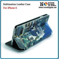 Glossy Surface sublimation printing leather Full Printable Cell Phone Case