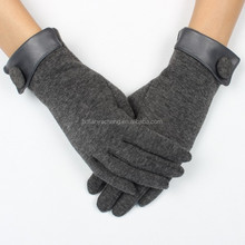 winter b2c online shopping for 30% cotton grey gloves