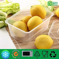 1000ml Disposable Plastic PP Feature Food Microwave Takeaway Container