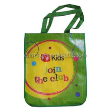 Soft loop handled non woven carry bag