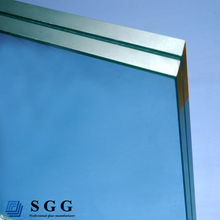 Excellent quality Clear Laminated Glass 6.38mm with PVB