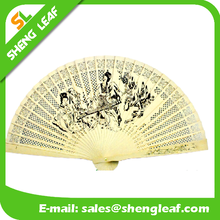 2015 hot Plastic hand fan for cheap