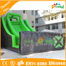 used cheap inflatable tropical slip and slide for rental