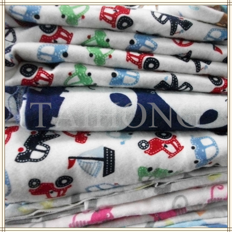 034 cotton  brushed fabric