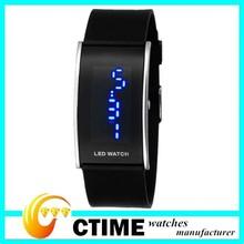 Jelly Wristband Unique Design Digital Wristwatches Fashion Silicone LED Watch
