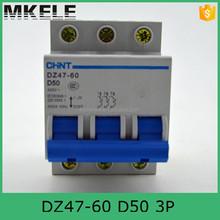 chint circuit breakers DZ47-60 3P D50