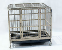 Round Top Stainless Steel Pets cage
