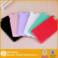 2015 New products candy color plastic case for iphone 6 mix color