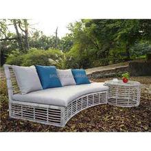2014 New Design Fashion All Weather Plastic Wicker Outdoor Sofa