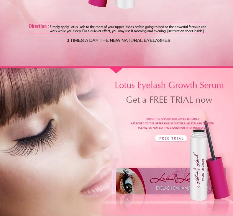 Lotus Eyelash Enhancer With Blink Lash Stylistcare Eyelash