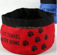 Good selling travel pet bowl personalized plastic dog dog bowl