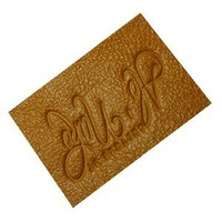personalized leather patches for car seat