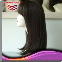 Glueless Full Lace 100% Human Hair Wig from CHINA