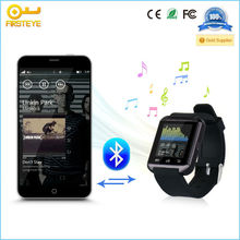 Android 4.0 wifi bluetooth smart watch with sleep monitoring alarm clock