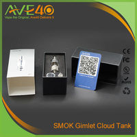 Smoktech GCT Gimlet Cloud Tank Air Flow Control Electronic Cigarette Glass Tank