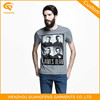 Custom Printing Men's T-Shirt, Organic Cotton T Shirt, Model Men's T-Shirt