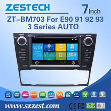 ZESTECH high quality car dvd gps HD touch screen for BMW e90 canbus radio AV/IN/OUT