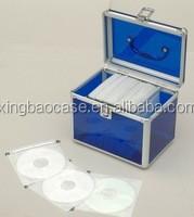 Home use xingbaocase aluminium DVD/VCD/CD box
